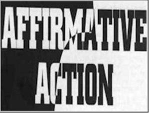 affirmative action poster